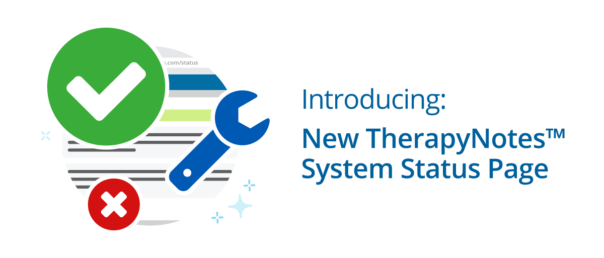 TherapyNotes System Status Page
